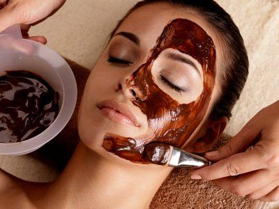 chocolademasker - schoonheidsbehandeling